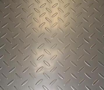 海东304不锈钢花纹板